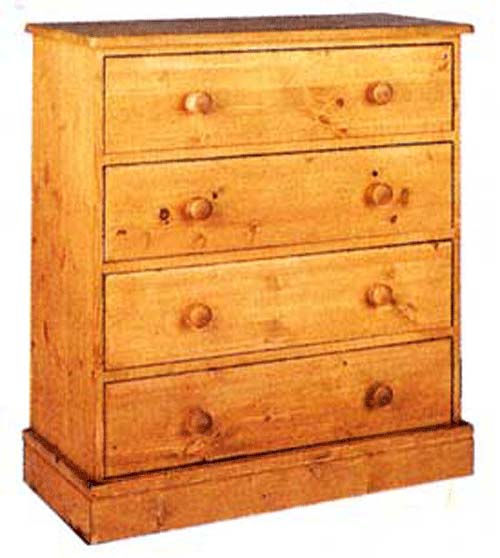 cornish 4 Drawer