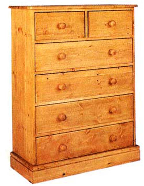 cornish 4 + 2 Drawer