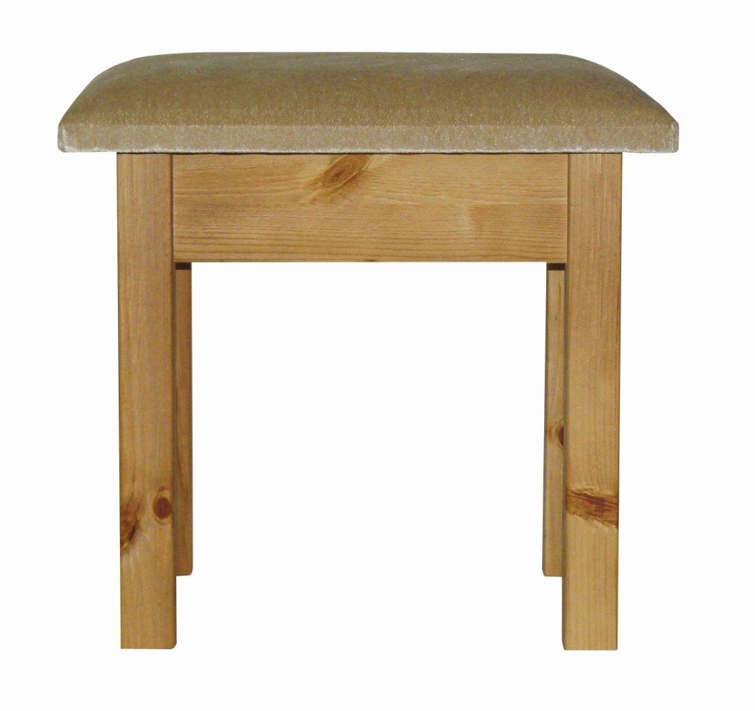 decora Stool With Beige Pad