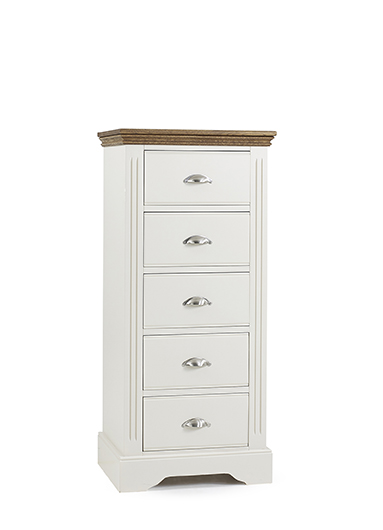 Kensington 5 Drawer Wellington Chest