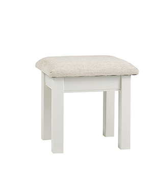 Kensington Stool With A Beige Pad