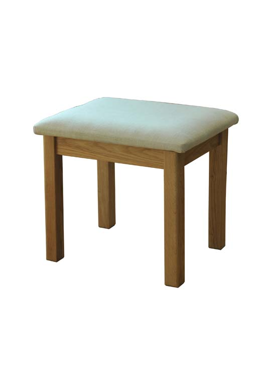 siena Stool with Cream Pad