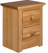 siena 2 Drawer Bedside