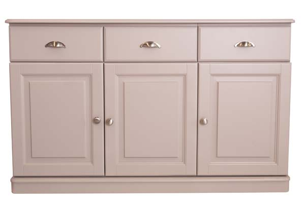 wiltshire living 1426w 3 Doors & 3 Drawers Sideboard With 1 Adj Shelf