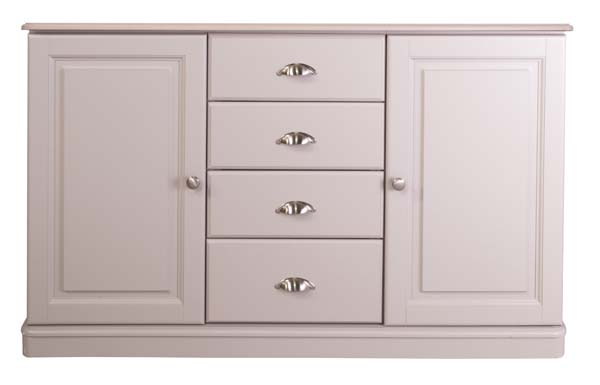 wiltshire living 1426w 2 Doors & 4 Drawers Sideboard With 2 Adjs In E