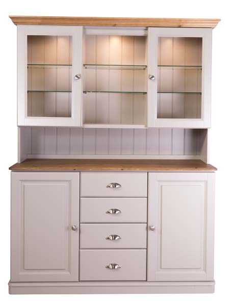 wiltshire living 1426w Dresser Top With 2 Doors And Open Centre Secti