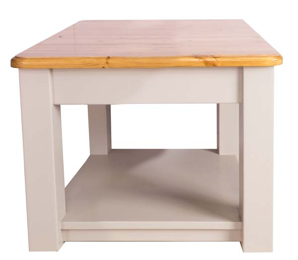 wiltshire living Small Coffee Table With Shelf