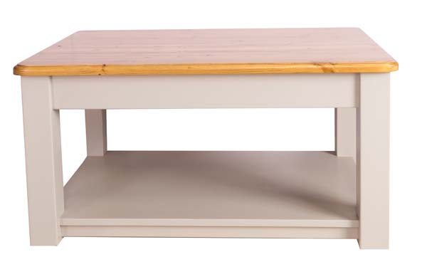 wiltshire living Large Coffee Table With Shelf