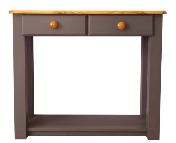 wiltshire living 2 Drawer Console Table With Shelf