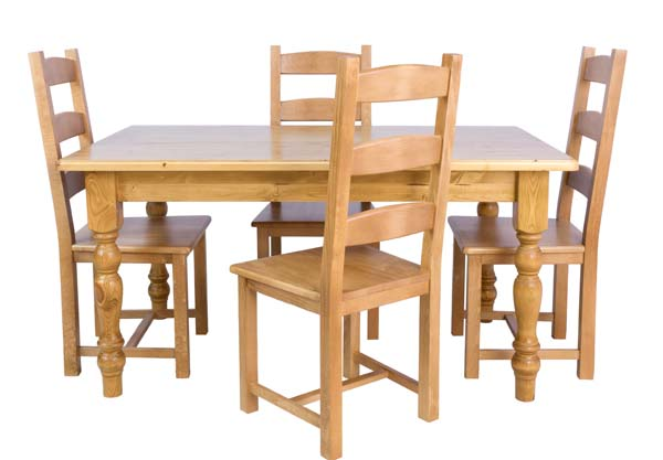 wiltshire living 7 X 3 Dining Room Table